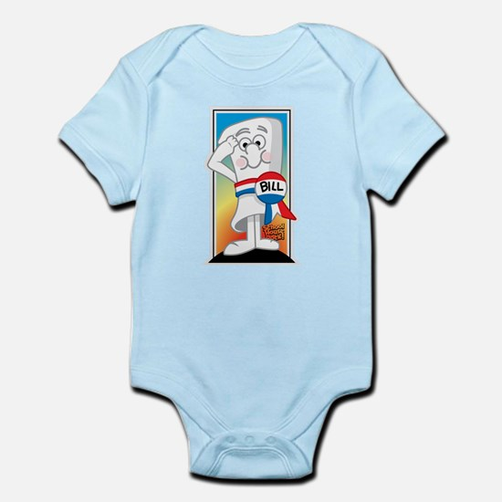 SchoolHouse Rocks Bill 2 Infant Bodysuit