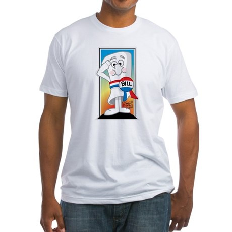 SchoolHouse Rocks Bill 2 Fitted T-Shirt