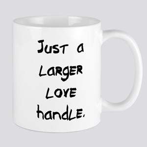 larger love handle Mug