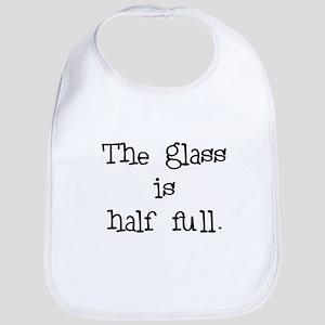 glass half full Bib