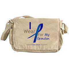 Colon Cancer Grandson Messenger Bag