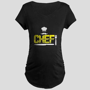 Chef T Shirt, Cook T Shirt Maternity T-Shirt