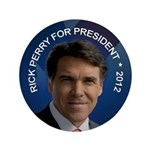 "Rick Perry 2012 3.5"" Button"