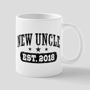 New Uncle Est. 2018 11 oz Ceramic Mug