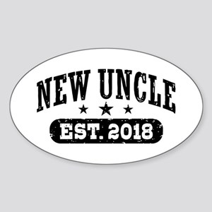 New Uncle Est. 2018 Sticker (Oval)