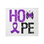 Alzheimer's Disease Hope Throw Blanket