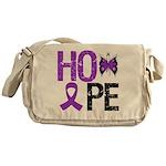 Alzheimer's Disease Hope Messenger Bag