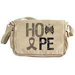 Brain Cancer Hope Messenger Bag