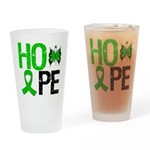 Cerebral Palsy Hope Drinking Glass
