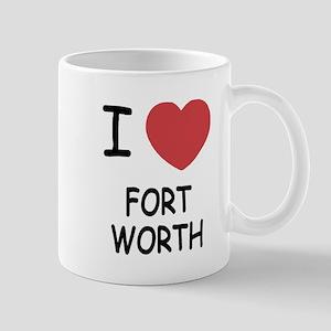 I heart fort worth Mug