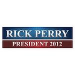 Rick Perry 2012 Sticker (Bumper)