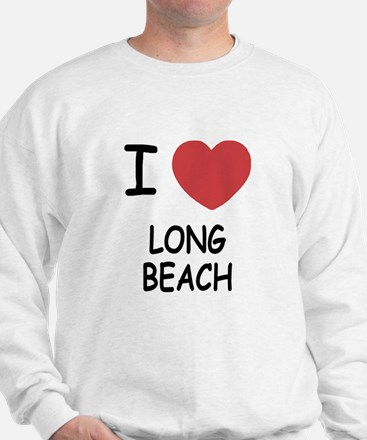 I heart long beach Sweatshirt