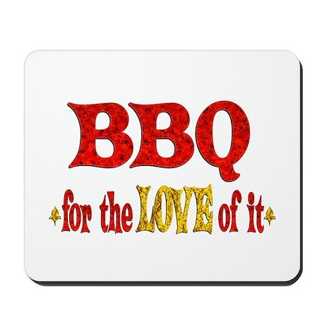 BBQ Love Mousepad