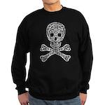 Celtic Skull and Crossbones Sweatshirt (dark)
