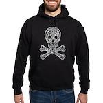 Celtic Skull and Crossbones Hoodie (dark)