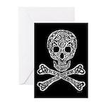 Celtic Skull and Crossbones Cards (Pk of 10)