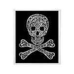 Celtic Skull and Crossbones Throw Blanket