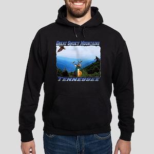 Great Smoky Mtns Tennessee Hoodie (dark)