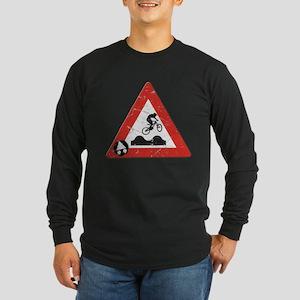 Jump Hills - Long Sleeve Dark T-Shirt