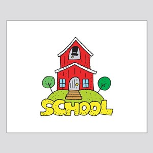 School House Small Poster