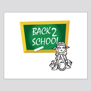 Back 2 School Small Poster