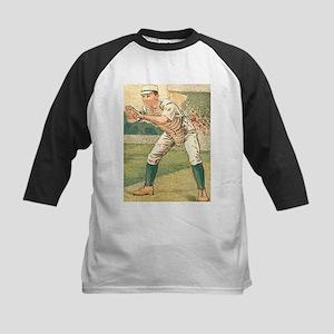 Vintage Catcher Kids Baseball Jersey