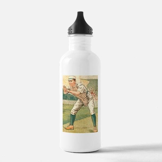 Vintage Catcher Water Bottle