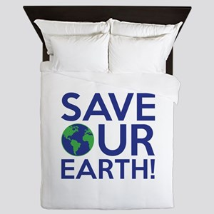 Save Our Earth Queen Duvet