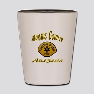 Flagstaff Sheriff Posse Shot Glass