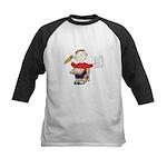School Boy Kids Baseball Jersey