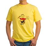 School Boy Yellow T-Shirt