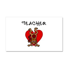 Teachers Love Kids Car Magnet 20 x 12