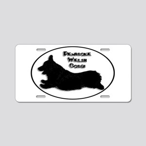 Happy-Go-Corgi - Aluminum License Plate