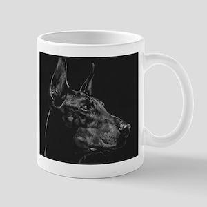 Dramatic Doberman Mug