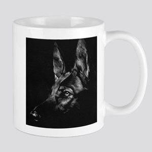 Dramatic German Shepherd Mug