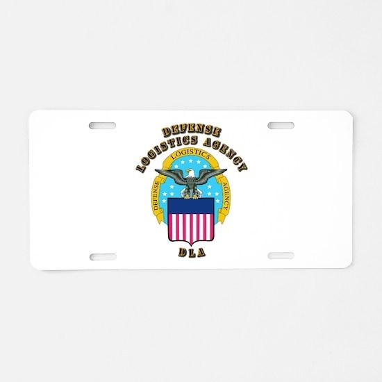 Emblem - Defense Logistics Agency Aluminum License