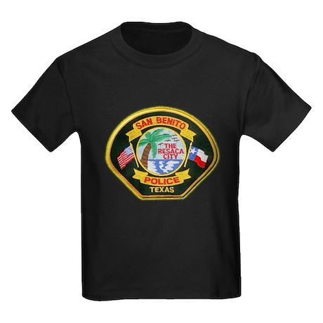 San Benito Police Kids Dark T-Shirt