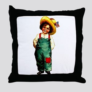 American Girl 1 Throw Pillow