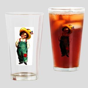 American Girl 1 Drinking Glass