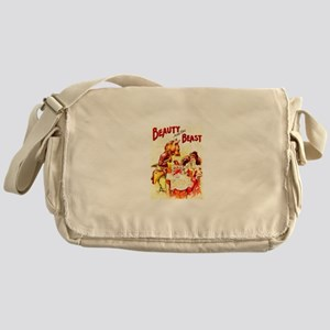 Beauty And The Beast Messenger Bag