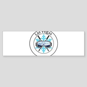 Las Vegas Ski & Snowboard Resort - Bumper Sticker