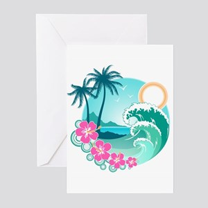 Paradise Greeting Cards (Pk of 10)
