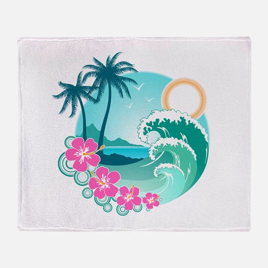 Paradise Throw Blanket