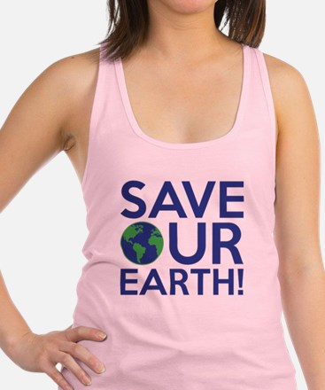 Save Our Earth Racerback Tank Top