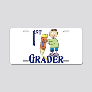 1st Grade Boy Aluminum License Plate