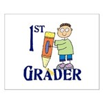 1st Grade Boy Small Poster