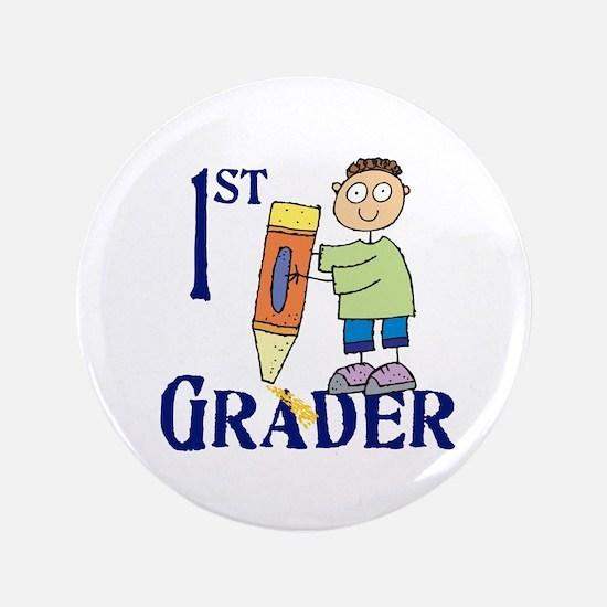 """1st Grade Boy 3.5"""" Button"""