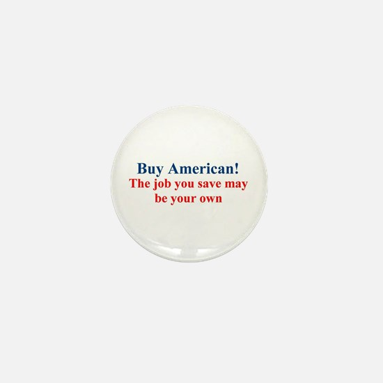 Buy American Mini Button