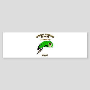 SOF - SWC Flash - Dagger - GB Sticker (Bumper)