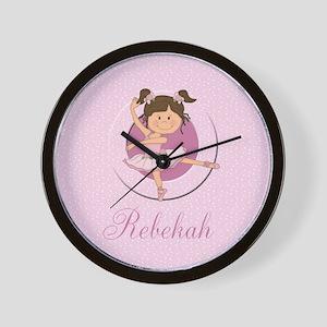 Cute Ballerina Ballet Gifts Wall Clock